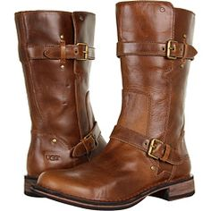 Didn't think I'd fall in love with a pair of Ugg boots. These are adorable. And, not too tall.