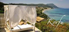 Palms & Spas, Messonghi / Korfu Süd-Ost- Ferienwohnung zu mieten bei Korfu Exklusiv