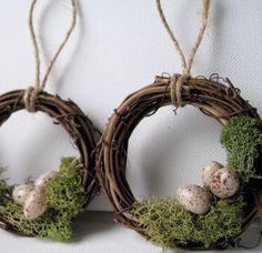 .ôô. Bird nest wreath