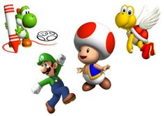 Baby Mario and Friends | Mario has the cutest friends.