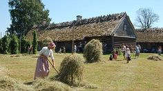 Fredriksdal Open Air Museum shows visitors what life was like in the Skåne region of Sweden in the 17th-18th centuries.