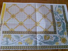 tapetes de arraiolos Bargello, Cross Stitch Patterns, Diy And Crafts, Quilts, Blanket, Rugs, Life, Tapestry Wall Hanging, Crochet Lace