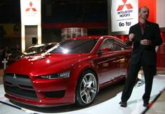 Introducing the Mitsubishi Evo X Concept at Canadian Auto Show