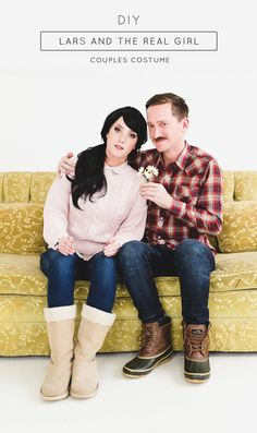 Hipster Halloween: DIY Lars and The Real Girl Couples Costume