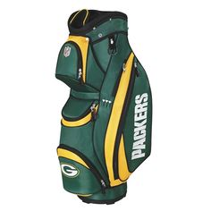 Green Bay Packers NFL Cart Bag by Wilson.  Buy it @ ReadyGolf.com