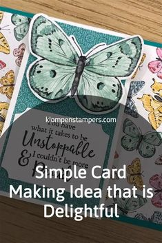 Looking for simple card making ideas? I've got loads of them! There's nothing like sending a handmade card to cheer and support your family and friends or to DIY a birthday celebration. Check out the ideas I have at www.klompenstampers.com #simplecardmakingideas #simplecards #easycards #cardmakingideas #greetingcards #diycards #jackiebolhuis #klompenstampers Fun Fold Cards, Diy Cards, Simply Stamps, Birthday Celebration, Cardmaking, Stampin Up, Birthday Cards, Cheer, Greeting Cards