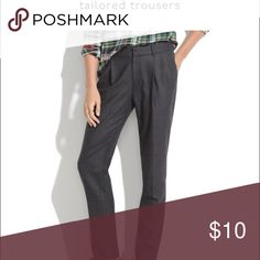 ISO! Madewell Tailored Trouser size 0! Item number: 08224. In search of, please do not purchase! Thanks for any tags or comments regarding this item!!! Madewell Pants