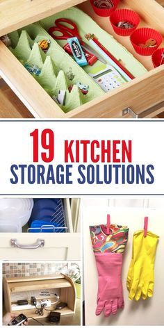 Every kitchen needs a little help when it comes to making the most of storage…