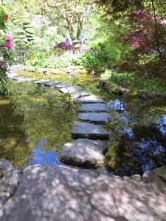 Japanese garden at Butchart Gardens