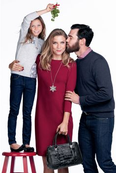 Make their holidays merry with Brighton! Emerson Croco tote
