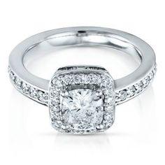 Radiant Star 1 1/2ct Diamond Engagement Ring - Radiant Star Rings - Helzberg Radiant Star - Collections - Helzberg Diamonds  #pingagement and #helzbergdiamonds