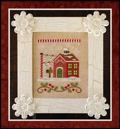 Santa's Village - North Pole Post Office - Country Cottage Needleworks