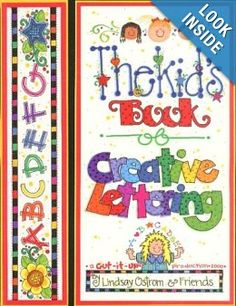 Amazon.com: Kid's Book of Creative Lettering (9781892726100): Lindsay Ostrom, Vicky Breslin: Books