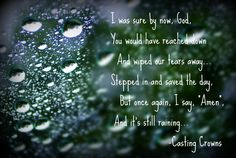 I will praise you in this storm