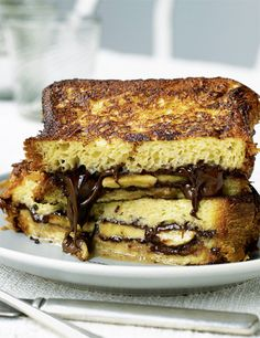 Nutella French Toast Sandwhiches
