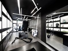Venafro, Italy is the home of a stellar new shop called the Home/Unusual Store, designed by Luigi Valente.