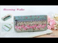 Make a Folding Wallet: Assemble the Zippered Pocket/Credit Card Holder - YouTube