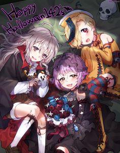 #Halloween the #Idolmaster cinderella #JeuVidéo #Manga