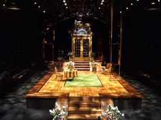 The+Importance+of+Being+Earnest+Set+Design | The Importance of Being Earnest Scenic design