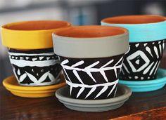 10 maneiras de personalizar um vaso de cerâmica                                                                                                                                                                                 Mais