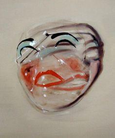 michaels borremans, 'mask' (detail); 2008