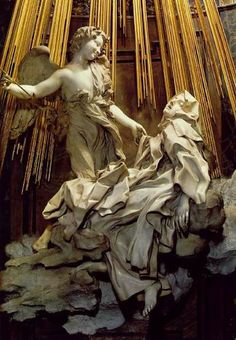 Bernini's Ecstasy of Saint Teresa - Amazing! In the midst of a glorious orgasm!