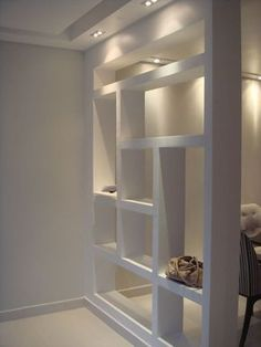 Ideas For Diy Wood Wall Divider Dining Rooms Living Room Partition Design, Living Room Divider, Room Divider Walls, Room Partition Designs, Diy Room Divider, Living Room Decor, Divider Ideas, Bookshelf Room Divider, Partition Ideas