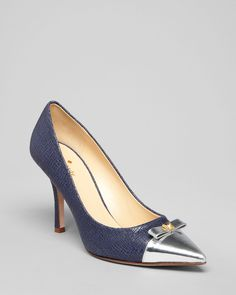 kate spade new york Pointed Toe Cap Toe Pumps - $348.00