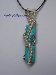 Wire wrapping: Howlit  wire wrapping