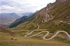 Motorcycle road Kyrgyzstan trueworldtravels.com