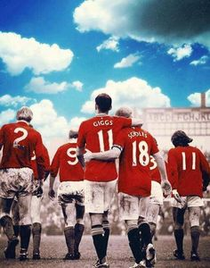 The legends Of Manchester United Manchester United Fans, Manchester United Football, Best Football Team, World Football, Retro Football, Steven Gerrard, Premier League, Pier Paolo Pasolini, Salford