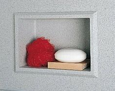 Recessed Shower Accessory Shelf Finish: Bermuda Sand by Swanstone. $160.00. AS01075.040 Finish: Bermuda Sand Features: -Bathroom accessory.-Can be installed vertically or horizontally. Options: -Available in several finishes. Specifications: -Inside Dimensions - 5 15/16 H x 8 1/4 W x 3 1/8 D.