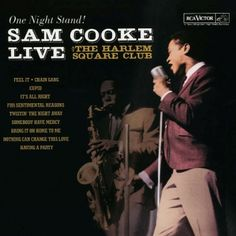 Sam Cook Live at the Harlem Square Club - possible cover art for invites