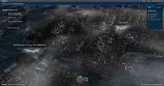 The Dark Knight Rises: Explore Gotham City in 3D!