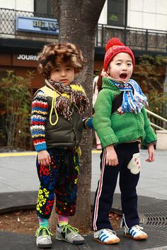 Colorful kids #fashion
