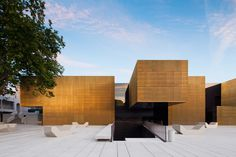 Centre for the Arts and Criativity in Guimarães, by the Portuguese architects  Pitágoras Arquitectos