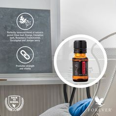 Forever™ Essential Oils Defense provides a balanced blend to promote strength and vitality. It is formulated from botanical oils gathered from the best sources including India, Nepal, Somalia, The United States, Madagascar and Hungary. https://vimeo.com/131916247 http://360000339313.fbo.foreverliving.com/page/products/all-products/997-essentialoils/510/usa/en Need help? http://istenhozott.flp.com/contact.jsf?language=en Buy it http://istenhozott.flp.com/shop.jsf?language=en
