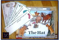 Comparing The Hat and The Mitten: A Jan Brett Book Study- This pack was created to accompany the books The Hat and The Mitten, both by Jan Brett. It would be a great addition to a Jan Brett author study. All the activities are designed to help students read for understanding and think critically about the texts. $