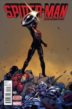 • The Avengers are down and Miles Morales stands alone against a villain with the power to destroy the universe.