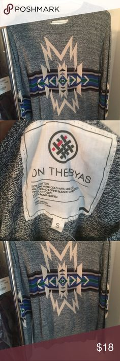 PacSun On The Byas MENS Crew Aztec Sweater I'm 5'1 - wore it oversized with leggings, worn twice, great condition, MENS Size S PacSun Sweaters Crewneck