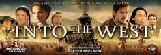 Don't miss the final episodes of Into the West on AMC, Sunday nights at 7 pm EST. Trailers, I Love Him, My Love, Into The West, Christian Kane, Daniel Gillies, Steven Spielberg, Indian Movies, Executive Producer