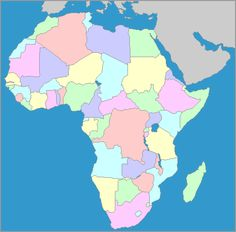 Interactive Map Of Africa Countries Capitals Http Www Yourchildlearns