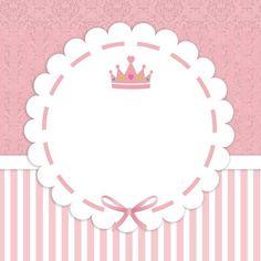 Pequeña Princesa Etiqueta