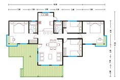 image3 Small House Plans, Little Houses, Better Homes, Modern House Design, Floor Plans, How To Plan, Architecture, Interior, Places