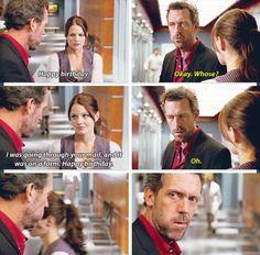 House and Cameron - the birthday scene :)