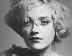 Dakota Fanning in wonderland magazine