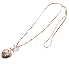 Rose Gold Heart Necklace – Lifestyle Home & Living