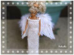 Für Kinder - *** Barbie als Engel ***  - ein Designerstück von Sabisilke bei DaWanda