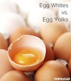 Egg Whites vs. Egg Yolks: Which Is Healthier? Thankkkkk you! Eating just whites is dumb! Give me an egg!