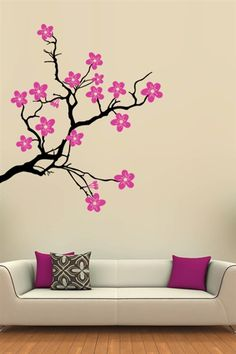 Cherry Tree - Wall Decals